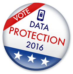 Data Protection button